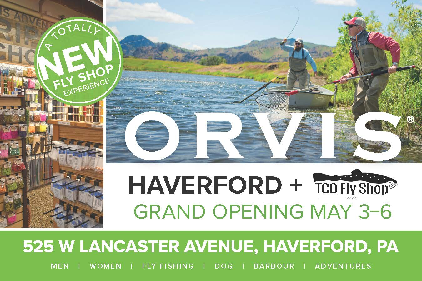 Orvis and TCO Fly Shop Launch Innovative Partnership