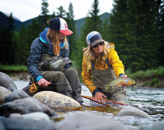 Women Anglers - 5050 On the Water
